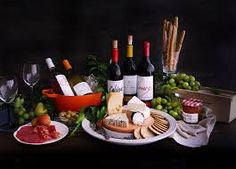 Setting a Wine and Cheese Buffet Table Wine Recipes, Catering, Buffet, Dairy, Cheese, Food, Table, Wine Tasting, Cold Cuts