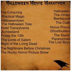 halloween movie list tumblr
