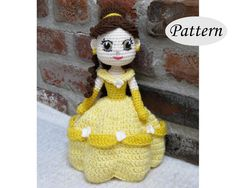 Hey, I found this really awesome Etsy listing at https://www.etsy.com/listing/258007667/pattern-belle-amigurumi-crochet-doll