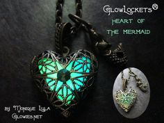 Heart of the Mermaid Glow Locket®. Starting at $1 on Tophatter.com!