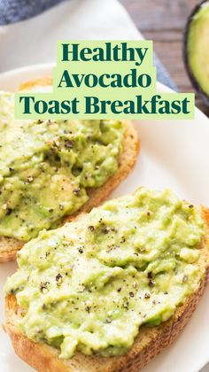 Breakfast Dishes, Breakfast Time, Healthy Breakfast Recipes, Brunch Recipes, Healthy Snacks, Vegetarian Recipes, Cooking Recipes, Breakfast Toast, Healthy Meals To Eat