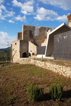 Restoration of the former church of St.Anthony and the gardens of the Convent of the Poor Calres in Santa Fiora, Italy   2tr architecture