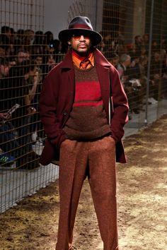 Umit Benan Fall/Winter 2014 at Paris Men's Fashion Week