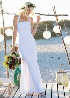 Hochzeitskleid weiß - BODYFLIRT boutique jetzt im Online Shop von bonprix.de ab ? 84,99 bestellen. Ein Traum in Weiß ist dieses zauberhafte Hochzeitskleid ...