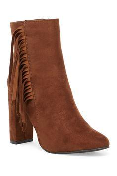 Lisa Fringe Boot by OPPO on @HauteLook