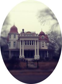 The Allen House.  Most haunted house in America. Monticello, AR