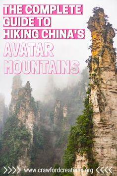 Avatar Mountains | Wulingyuan Scenic Area | Zhangjiajie | Avatar Mountains Hiking | Wulingyuan Hiking | Zhangjiajie National Forest Park | Zhangjiajie National Park Hiking | Wulingyuan Travel Guide | Avatar Mountains Travel Guide | China Hiking | China Travel | Avatar Mountains China | Zhangjiajie Hiking | Zhangjiajie Mountains | Huangshizhai | Tianzi Mountain
