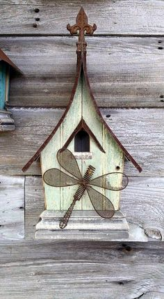 Beautiful Bird House Designs You Will Fall in Love with (41)