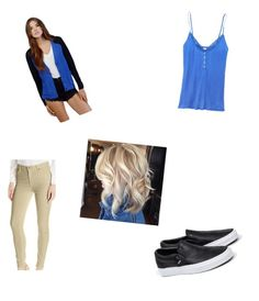 """""""Untitled #3"""" by jumarie on Polyvore featuring 7 For All Mankind, Victoria's Secret, Tobi and Vans"""