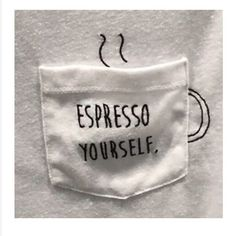 Excellent Pic Embroidery Patterns coffee Thoughts T-Shirt aufpimpen Idee für Kaffee-Liebhaber – – Hand Embroidery Stitches, Modern Embroidery, Hand Embroidery Designs, Embroidery Art, Embroidery On Tshirt, Broderie Anglaise Fabric, Diy Camisa, T-shirt Broderie, T Shirt Diy