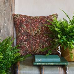 Foxy Pheasant Phesant Cushion - Ombre - other colours available Orange And Purple, Orange Color, Game Shooting, Lady Games, British Country, Leather Lanyard, Bee Friendly, Pheasant Feathers, Game Recipes
