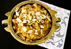 The Low Calorie Moong Dal Halwa