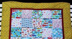 Kinderdecke mit verschiedenen Motiven  von Meine bunte Flickenecke auf DaWanda.com