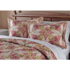Mainstays Antique Garden Bedding Quilt