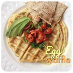 can't decide between an omelet or a waffle? try adding your omelette mixture to your iron waffle!
