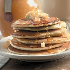 Ginger Pancakes – Step beyond the ordinary – these spicy pancakes make a wonderful holiday breakfast.