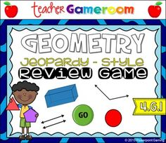 Geometry Jeopardy Powerpoint Game Jeopardy Powerpoint, Geometry Games, Teaching High Schools, Student Engagement, 3d Shapes, Homeschool, Fun, Homeschooling, Hilarious