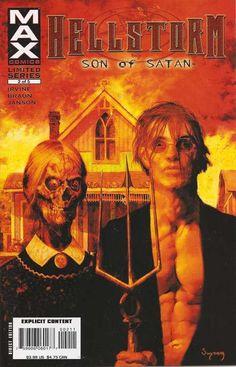 Hellstorm: Son of Satan (Marvel, 2006) #2 signed by Arthur Suydam