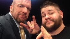Triple H ( HHH ) & Kevin Owens ( The Prize fighter , Keven Owens is also known as K.O )