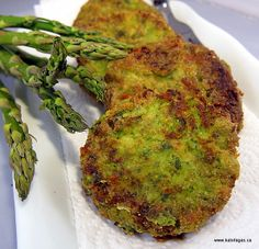 Asparagus Fritters...