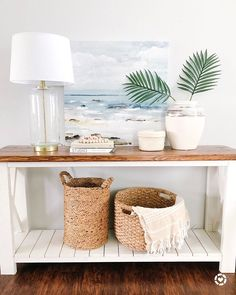 Coastal Decor 98553 Caitlin Marie Design - Cultivating a Warm and Inviting Home Modern Coastal, Coastal Decor, Seaside Cottage Decor, Coastal Style, Coastal Entryway, Beach Cottage Style, Entryway Decor, Coastal Living Rooms, Home And Living
