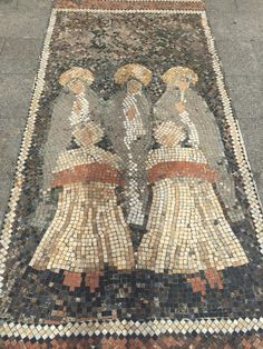 Mosaico de Las Marías en la Plaća de Baix