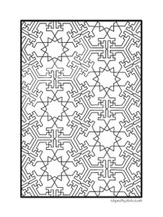 Based on a French Drawing of Islamic Tiles | Flickr - Photo Sharing!
