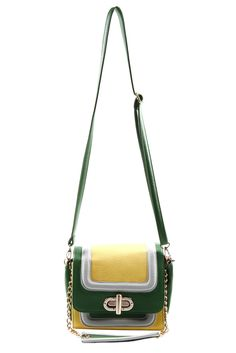 Three-Tone Bag // Looks like a #Baylor gal accessory to me!