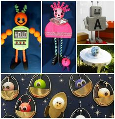 Keep your children busy with fun summer kids' crafts from Smoothfoam! These alien and robot crafts for kids are the perfect way to let your child's imagination Robot Crafts, Alien Crafts, Summer Crafts For Kids, Summer Kids, Kids Crafts, Aliens, Robots, Your Child, Children