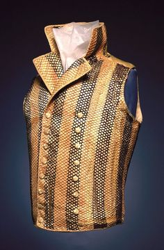 Image result for ascot and waistcoat 18th century