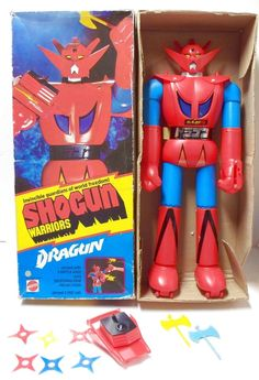The Shogun Warrior Dragun, a.k.a. Getter Dragon from the series Getter Robo G.