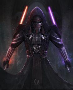 Star Wars Darth Revan, Star Wars Clone Wars, Star Trek, Darth Vader, Images Star Wars, Star Wars Pictures, Star Wars Concept Art, Star Wars Fan Art, 2160x3840 Wallpaper