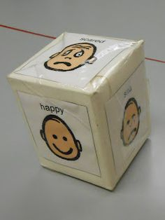 Carrie's Speech Corner: Tissue Box Therapy!