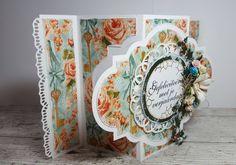 470.713.302 Dutch Doobadoo Swing Card Art Romance Swing Card, Shabby, Graphic 45, Box, Birthday Cards, Craft Projects, Decorative Plates, Paper Crafts, Creative
