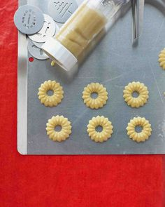 Christmas Cookie Recipes: Spritz Butter Cookies