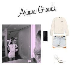 """Steal Her Style: Ariana Grande 3"" by celebrityinspiration-1 ❤ liked on Polyvore featuring Coach, Free People, Gianvito Rossi, NARS Cosmetics, casual and ArianaGrande"