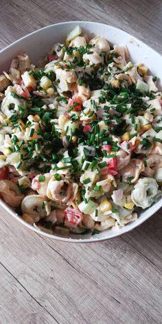 Tortellini, Salad Dressing, Healthy Recipes, Healthy Food, Pasta Salad, Impreza, Cooking, Ethnic Recipes, Top