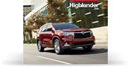 Toyota Highlander Drive a Toyota today! Oakbrook Toyota, Westmont, IL Ask for Brian Duncan (your host) set up your appointment:  1-630-789-9600