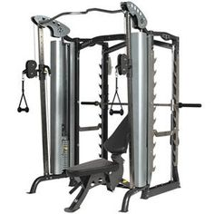 I dare you to find an exercise you CAN'T do on the Hoist PTS home gym