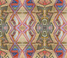 Berryla Rombi fabric by albanianflower on Spoonflower - custom fabric
