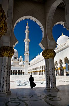 """Abu Dhabi - Sheikh Zayed Mosque by www.garymcgovern.net """