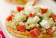 5. Mediterranean Breakfast Tostadas