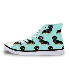 Pug Floral Print Women Vulcanized Sneakers Flat Ladies Lace-up High Top Sneakers, Shoes Sneakers, Men's Footwear, Pugs, Converse Chuck Taylor, Trainers, Floral Prints, Lace Up, Socks
