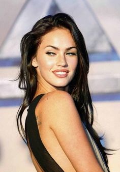 Megan Fox, my doppelganger, when I am skinny lol