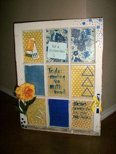 Tri Delta themed window!