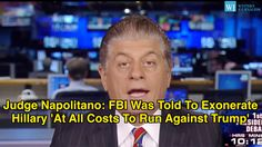While Hillary Clinton was busy suggesting Donald Trump is hiding something in his taxes…  --->   Judge Napolitano: FBI Was Told To Exonerate Hillary 'At All Costs To Run Against Trump'   ...