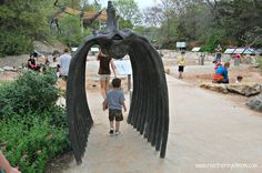 Dino Pit (Austin Nature & Science Center) ~ Austin, Texas - R We There Yet Mom?