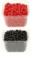 Order jelly beans from Jelly Belly in school colors for a graduation party.