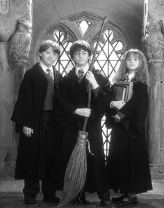 ten years with harry, ron and hermione