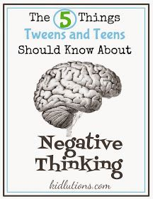 """The 5 Things Teens Should Know About Negative Thinking: """"They multiply. – They k… – Melissa Pope – art therapy activities Middle School Counseling, School Social Work, School Counselor, Counseling Activities, Art Therapy Activities, Counseling Teens, Articulation Activities, Group Activities, Psych"""